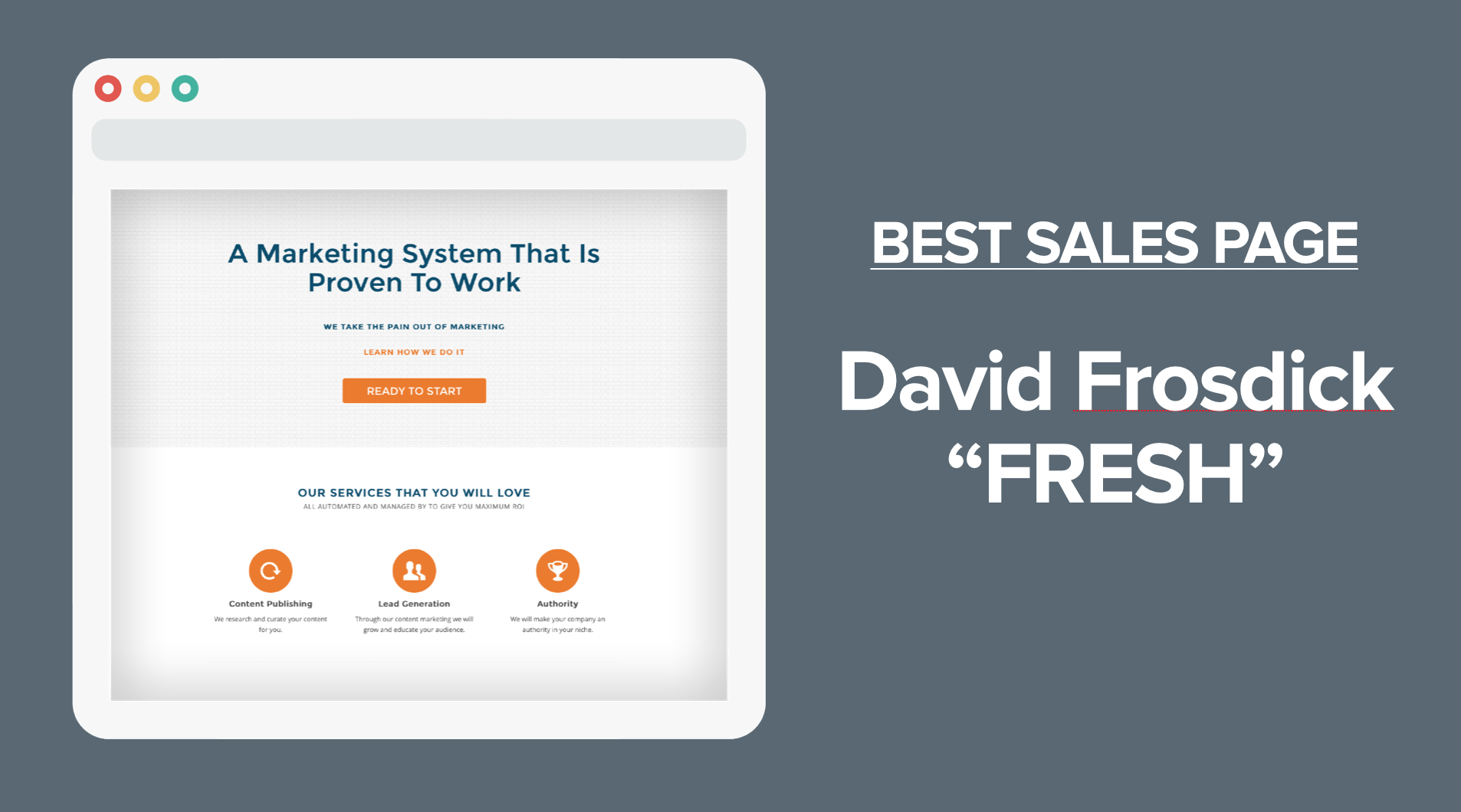 Sale Announcement Template Sales Page Template Winner