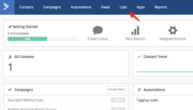 OptimizePress-ActiveCampaign-Lists
