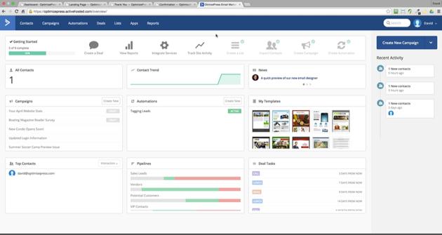 OptimizePress-ActiveCampaign
