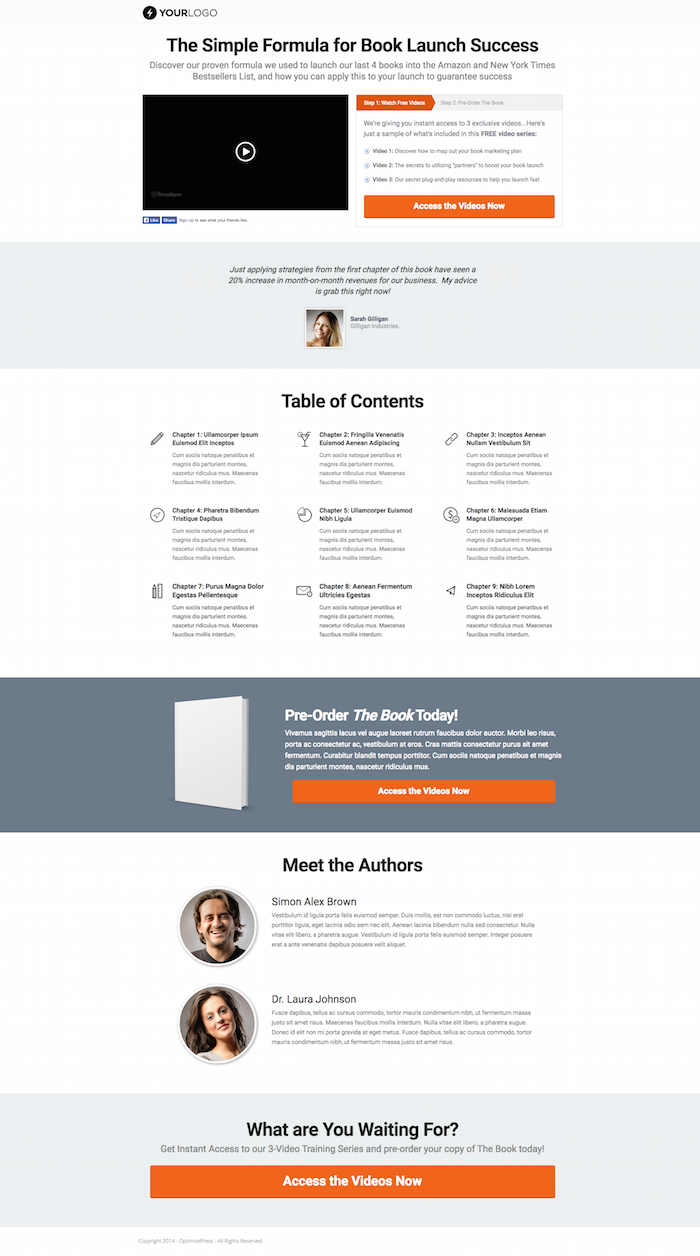 New Optimizepress 24 Templates