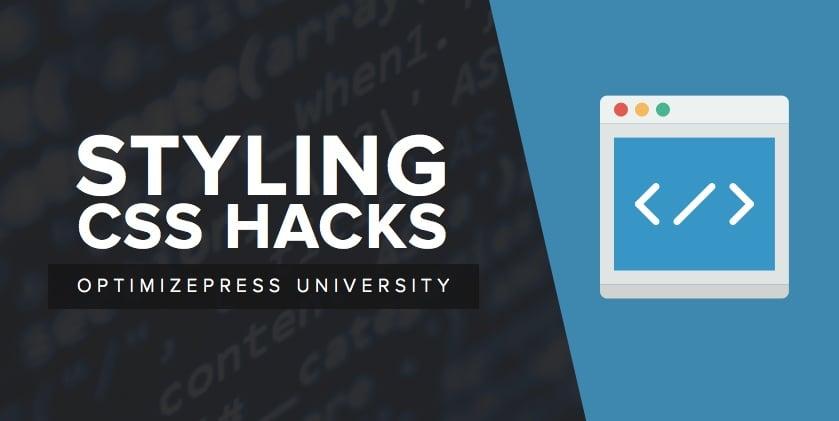 CSS Styling Hacks for Extra Creativity - OptimizePress