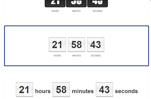 Scarcity with Countdown Timers | Countdown Timer Styles