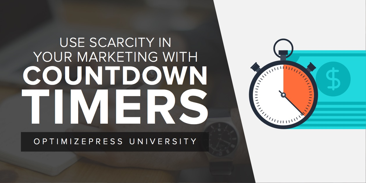 Use Scarcity in Your Marketing with Countdown Timers