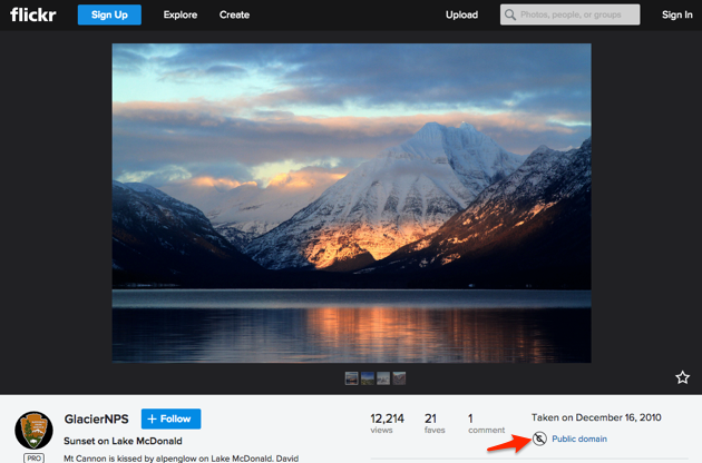 Free stock photos   Flickr Mountain stock photo