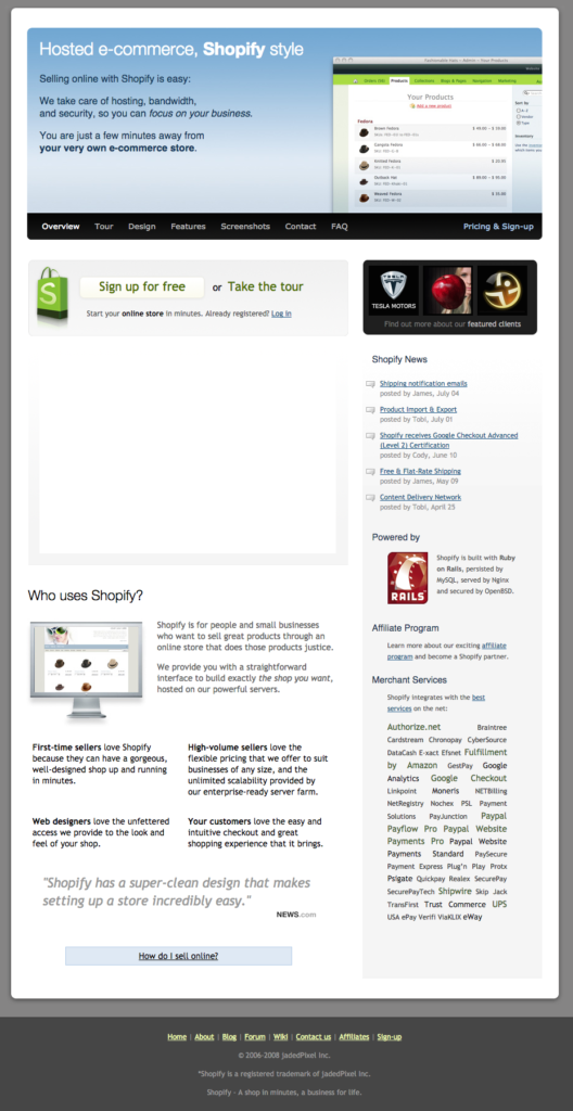 Shopify Chip And Swipe Reader: Free Website Shopify