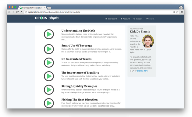 Customer success stories option alpha optimizepress customer success story kirk du plessis course page maxwellsz
