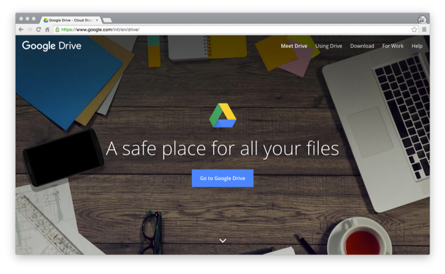 Tools we use to run our software company | Google Drive