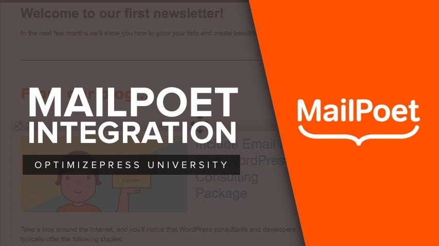 Mailpoet_Integration