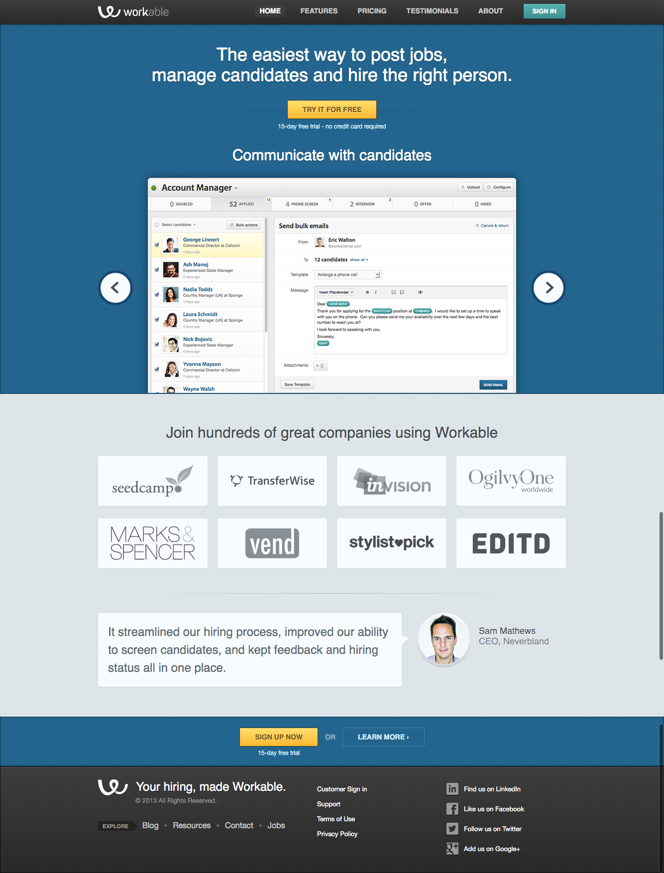 How to Recreate Your Favourite Website - Workable - OptimizePress