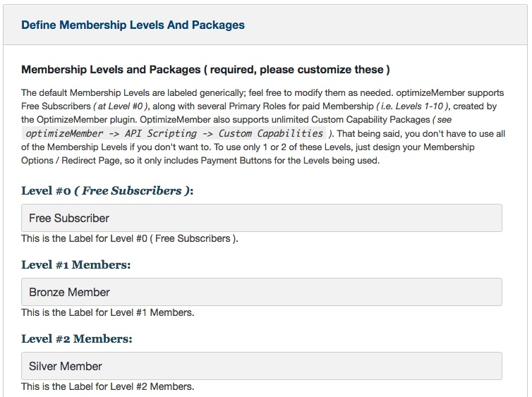 Membership software features for growing a successful website | Define Membership Levels
