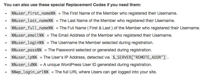 Membership software features for growing a successful website | Email Replacement Codes
