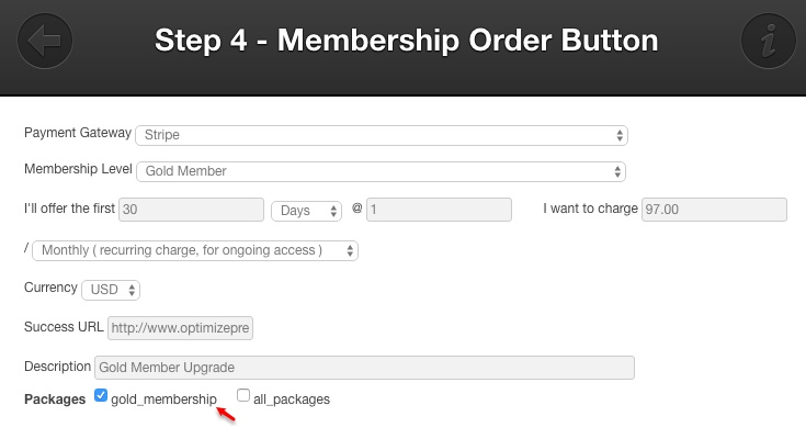 Membership software features for growing a successful website | Membership Order Button