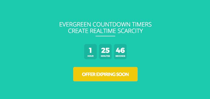 We have a wide range of countdown timer designs inside OptimizePress