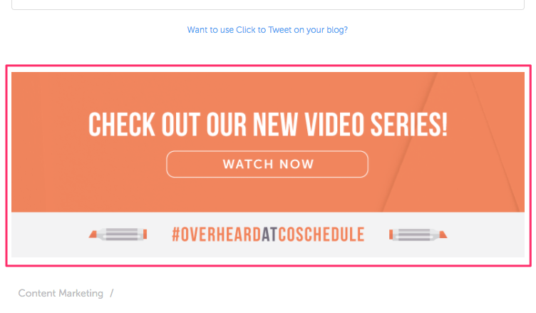 How to craft the perfect blog post   Video Feature Box