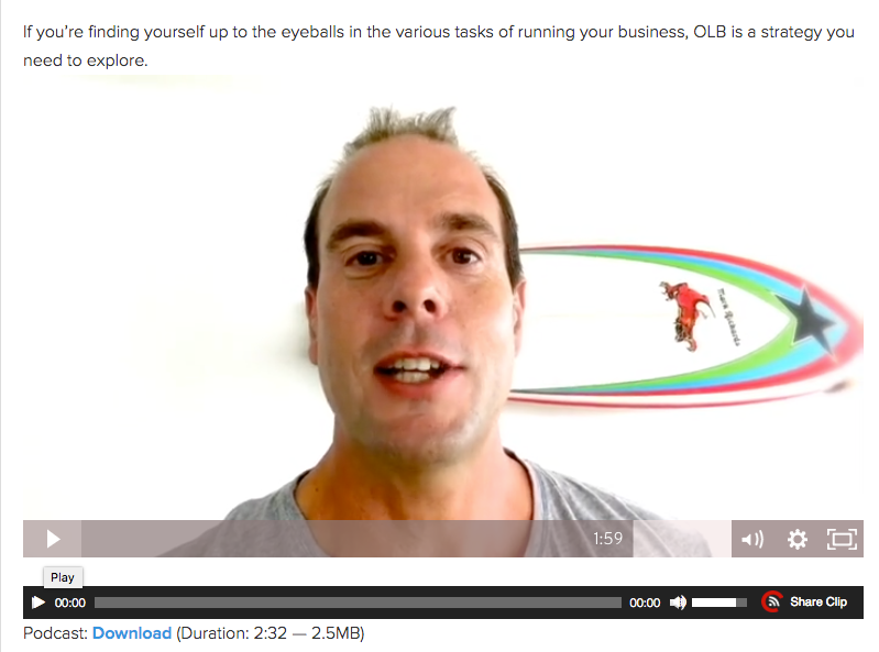 How to craft the perfect blog post   James Schramko Video