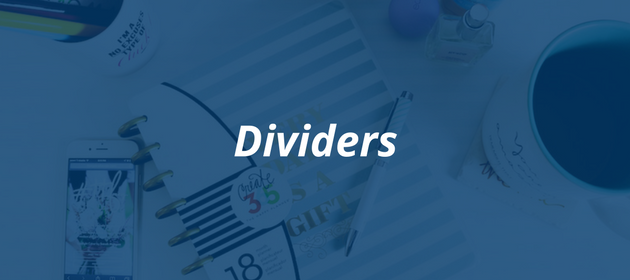 How to craft the perfect blog post   Dividers