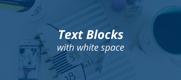 How to craft the perfect blog post   Text Blocks