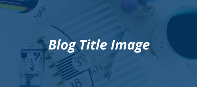 How to craft the perfect blog post   Blog Title Image