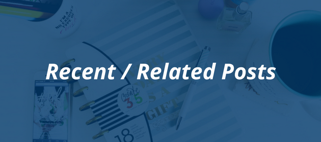 How to craft the perfect blog post   Recent and Related Posts