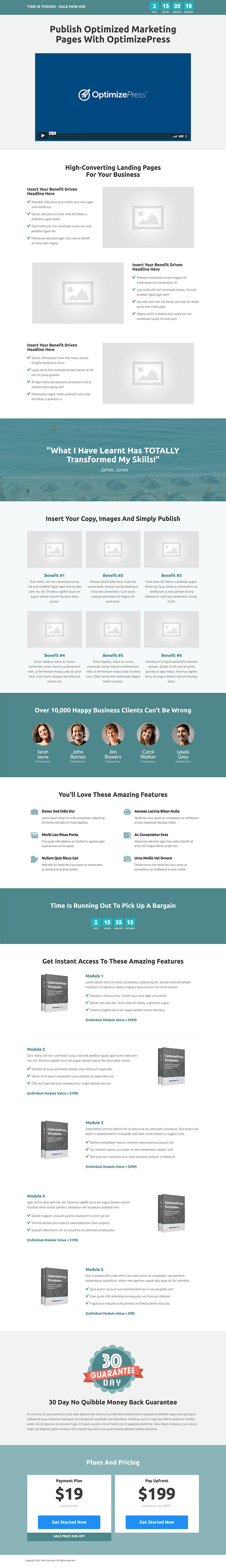 February Template Roundup | Stand Landing Page