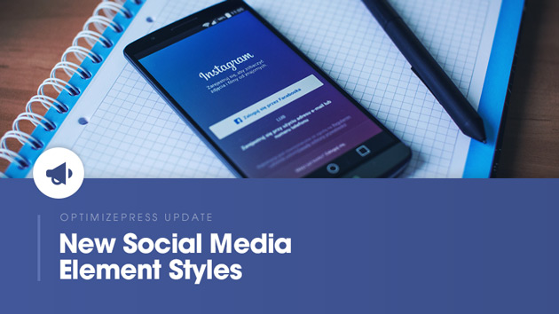 [Element Update] New Social Media Element Styles