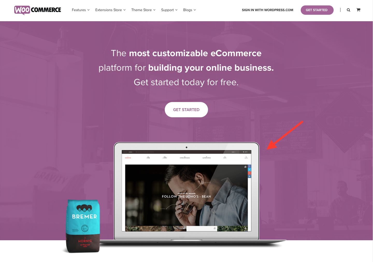 Landing Page Examples from Top Tech Companies | WooCommerce Application
