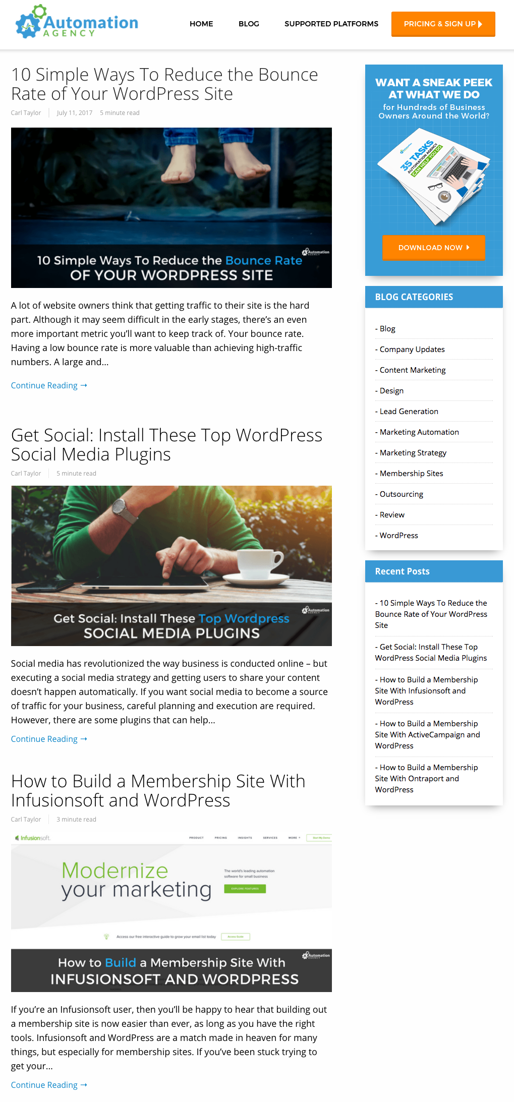 How Build a Webpage With Just 750 Words - OptimizePress