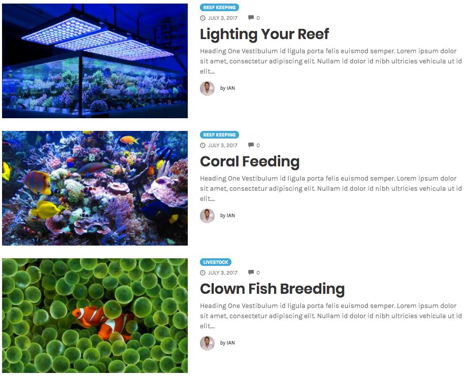 Blogs to inspire WordPress Theme Design | Blog Post Listing
