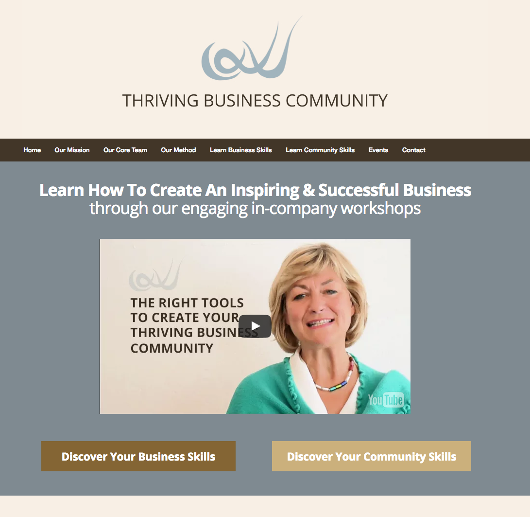 Landing and Sales Page Examples from OptimizePress Customers | Business Skills Landing Page
