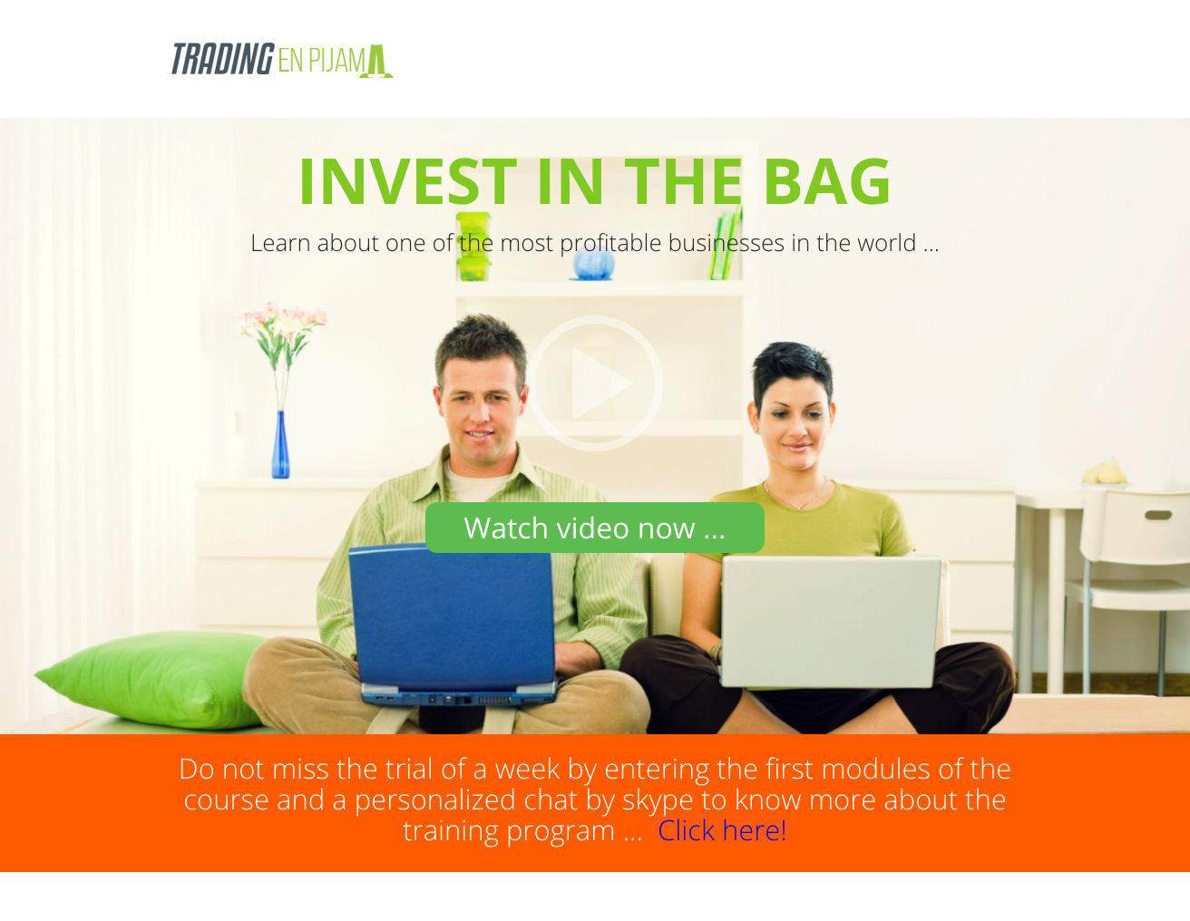 Landing and Sales Page Examples from OptimizePress Customers | Trading Landing Page