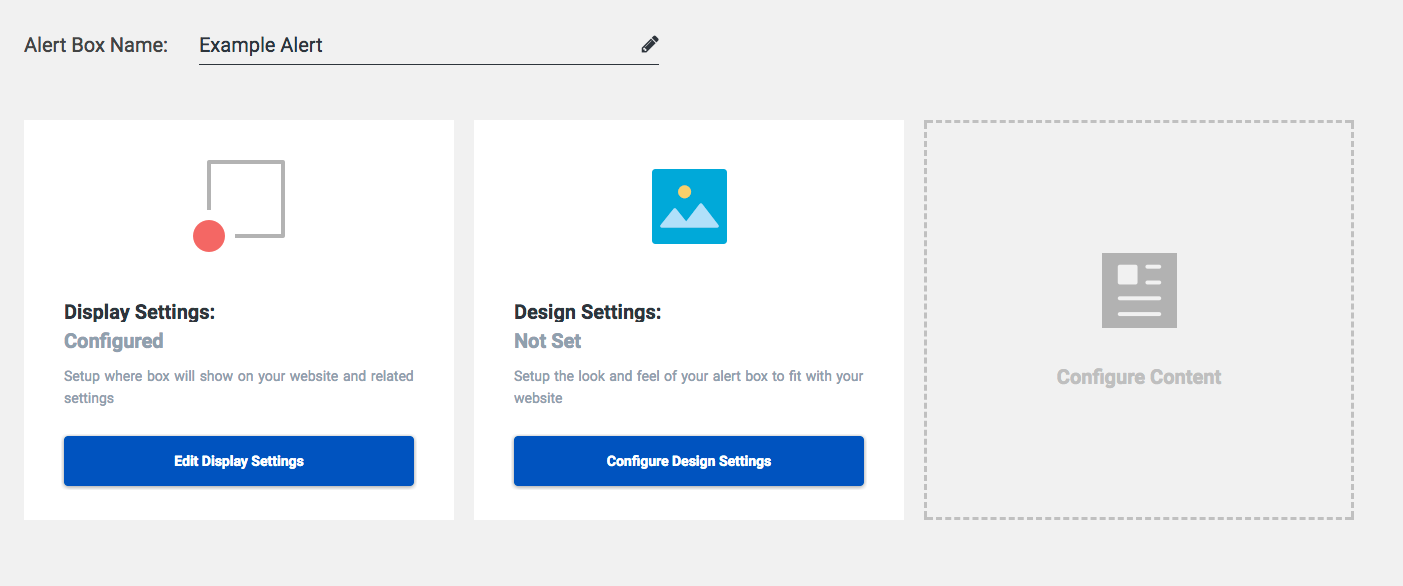 Getting started with OptimizeUrgency | OptimizeUrgency Design Settings