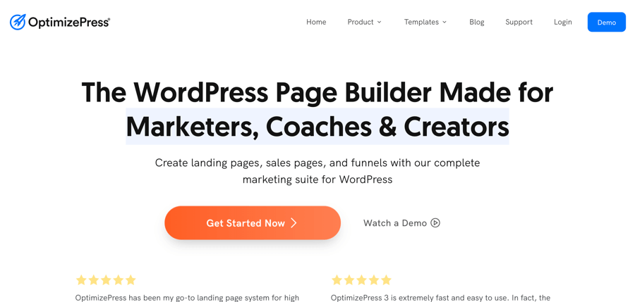 optimizepress landing page example