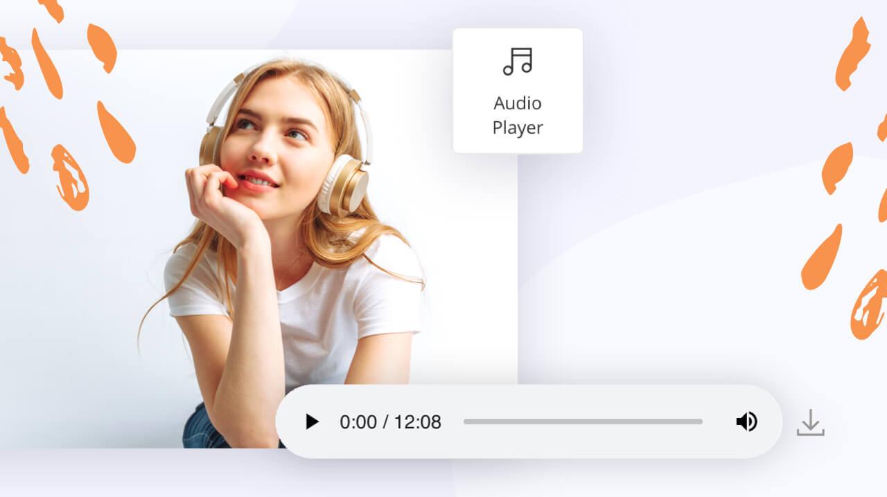 WordPress Audio Player Element