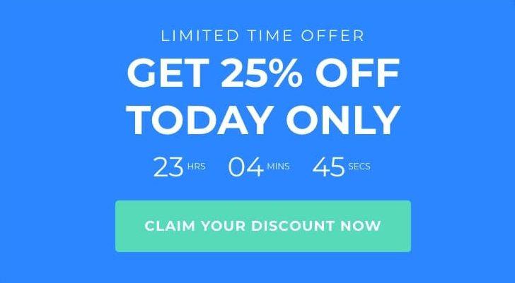 optimizepress exit intent discount