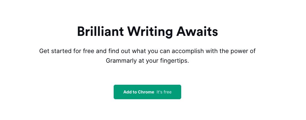Grammarly software as a service
