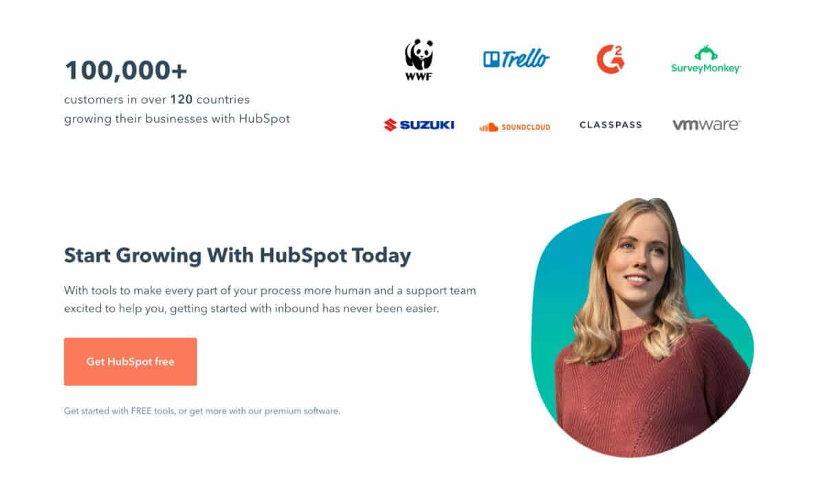 HubSpot Screenshot