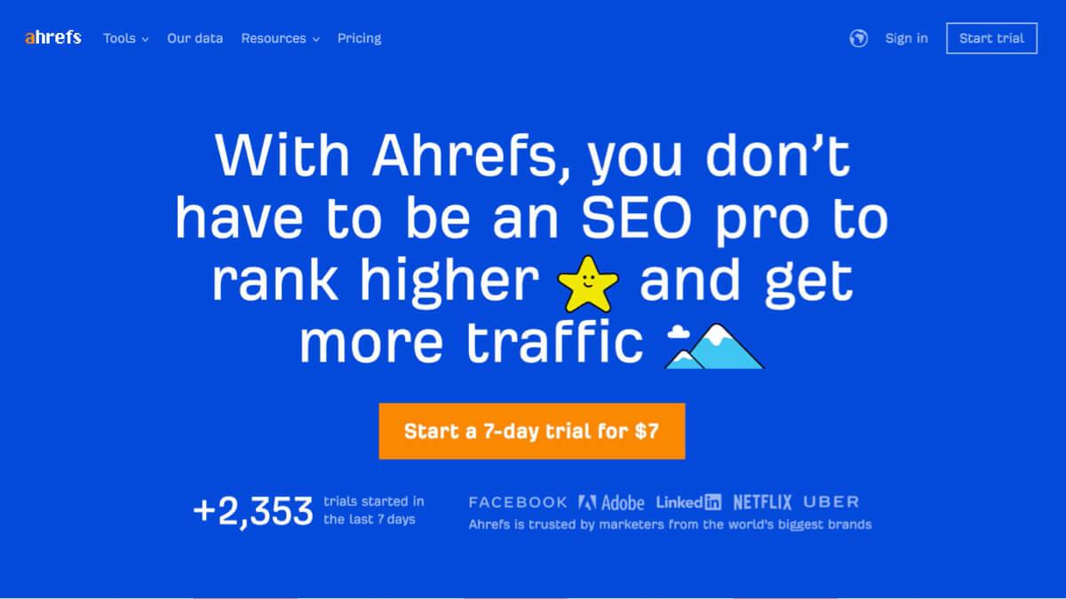 ahrefs subscription