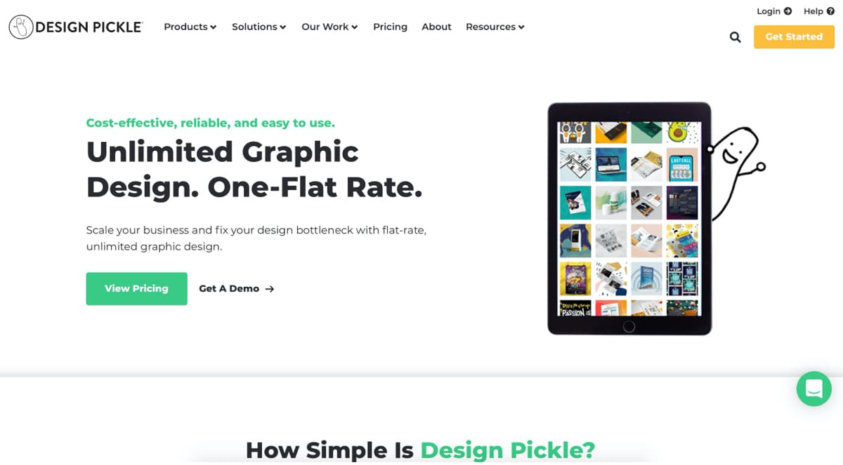 Services as a subscription with Design Pickle