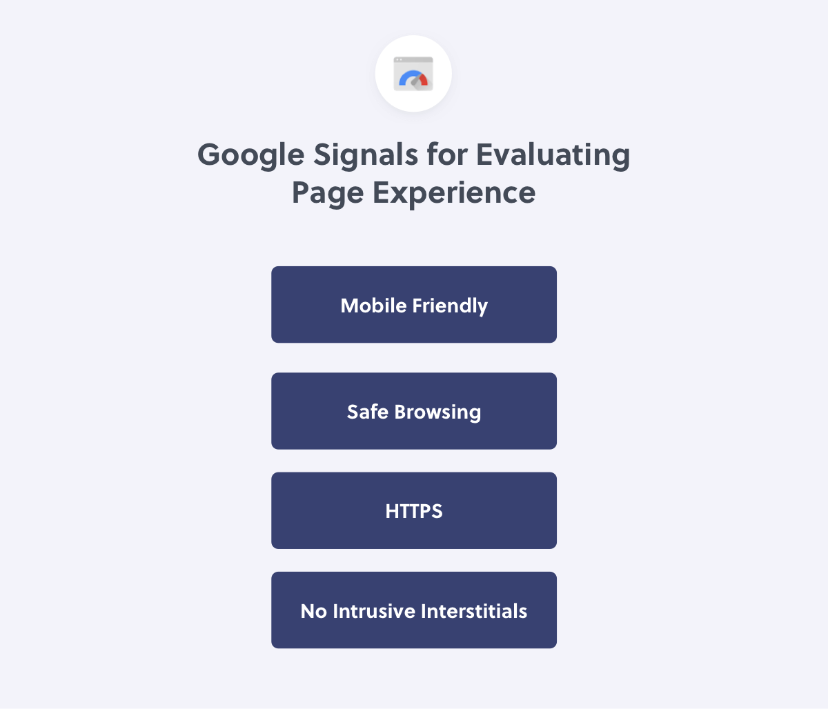 Page Experience Signals from Google